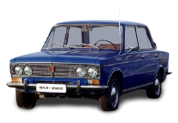 Багажник на дах для ВАЗ/LADA (Lada) UNI 1300 mm Vaz 2103