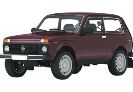 Багажник на дах для ВАЗ/LADA (Lada) UNI 1400 mm Vaz 2121