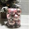 Новогодние елочные украшения набор шаров 12шт*4 см