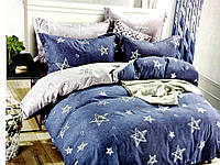 Постельное белье сатин 150х210 | Полуторный комплект постельного белья | Постільна білизна Колоко