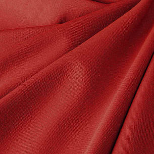 Тканина для Скатертин Червона з просоченням Тефлон-180 Однотонна Туреччина 180см ширина, фото 2