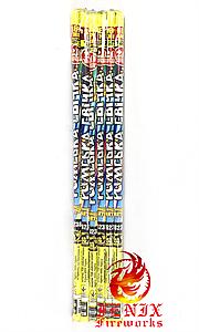 РИМСКИЕ СВЕЧИ НАБОР 12 ШТУК ПО 20 ВЫСТРЕЛОВ (КОМЕТЫ)  Т-6238