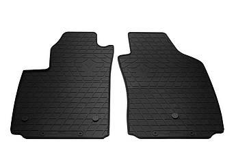 Коврики в салон резиновые передние для  FIAT 500 electric 2012- Stingray (2шт)