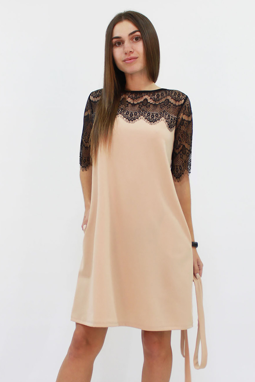 Коктейльное женское платье Arizona, бежевый
