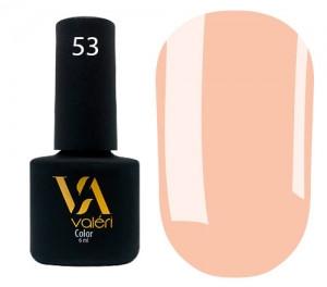 Гель-лак Valeri №053 (приглушенный оранжевый, эмаль), 6 мл