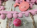 Тесьма большие шарики пумпоны, фото 2