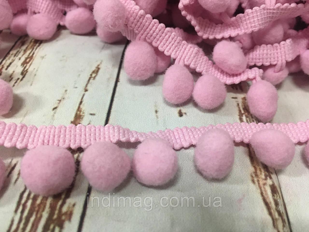 Тесьма большие шарики пумпоны