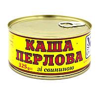 Каша перловая со свининой, 325 г, Каши с мясом, Онисс