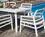 Крісло Aria 70,5x71x84 см bianco grigio Sunbrella®, фото 2