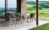 Крісло Aria 70,5x71x84 см bianco grigio Sunbrella®, фото 5