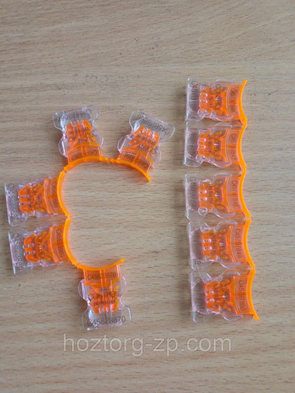 Пломба пластиковая номерная защёлка