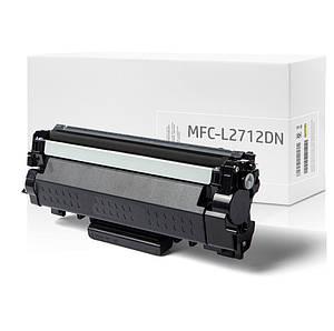 Совместимый картридж Brother MFC-L2712DN, 3.000 копий, аналог от Gravitone (GTB-MFC-L2712DN-TN-BK-XL)