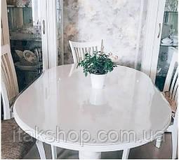 Скатерть Мягкое стекло для стола и мебели Soft Glass (1.1х1.5м) толщина 0.5 мм Прозрачная, фото 3