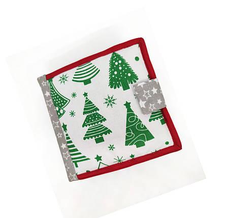 Новогодние мягкие книжки для детей, Мягкие книжки Handmade, 10 страниц/ Christmas tree, фото 2