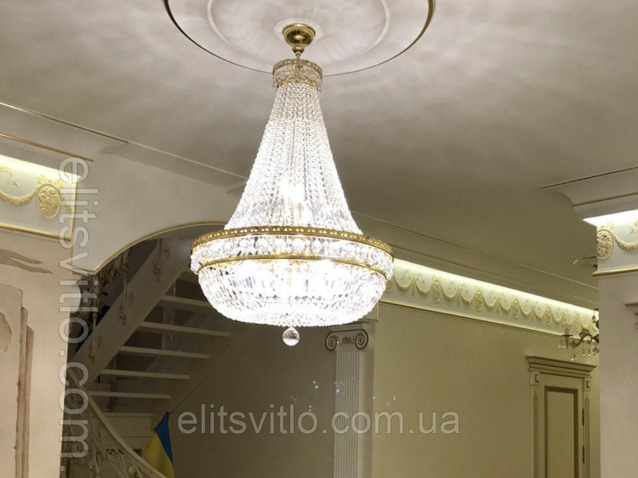 Хрустальный светильник Еlite Bohemia L 740/15/05 N