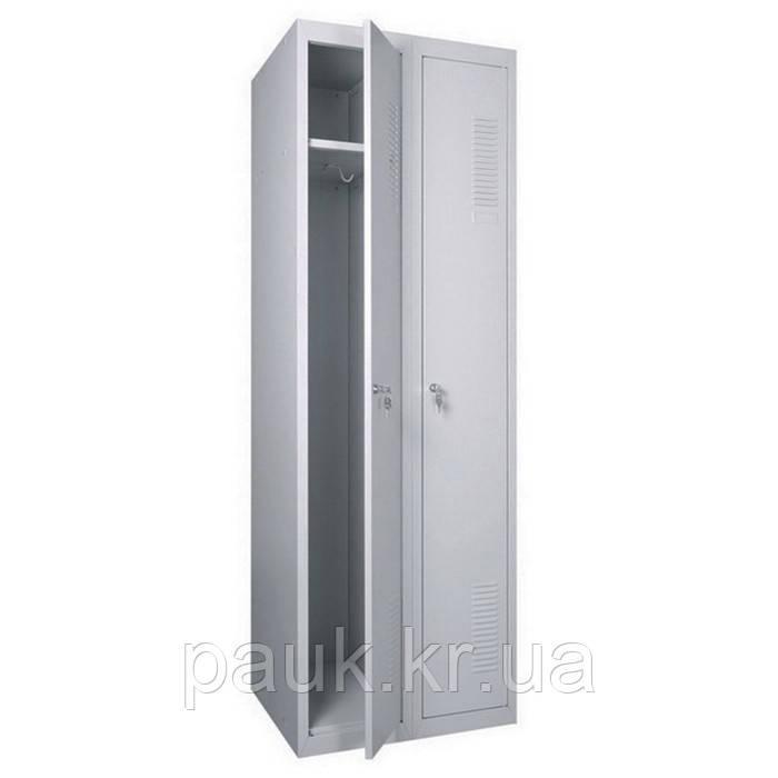 Шкаф для одежды ШОП-400/2, металлический усиленный