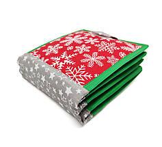 Новогодняя книжка из фетра для самых маленьких, 10 страниц/ Christmas soft book, фото 2