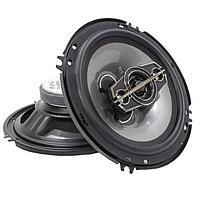 Автомобильные колонки круглые TS-1695 6.5'', 750W автоакустика в машину, динамики (16 см). Чистый звук!