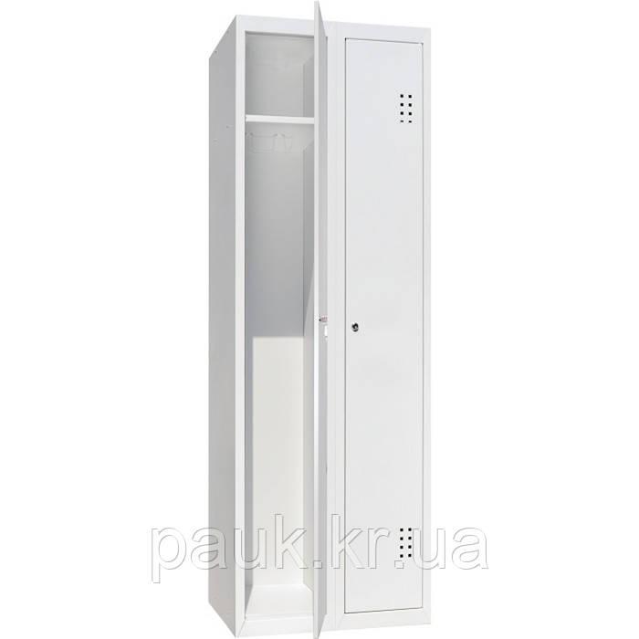 Шафа для одягу метал ШО-400/2 (економ), два відділення