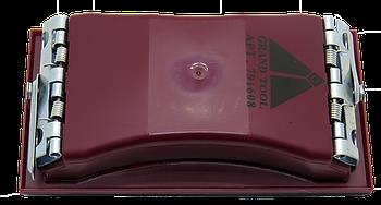 Брусок для наждачной бумаги 165х85 мм, красный Grandtool