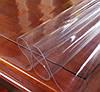 Скатерть Мягкое стекло для стола и мебели Soft Glass (1.4х1.5м) толщина 0.5 мм Прозрачная, фото 4
