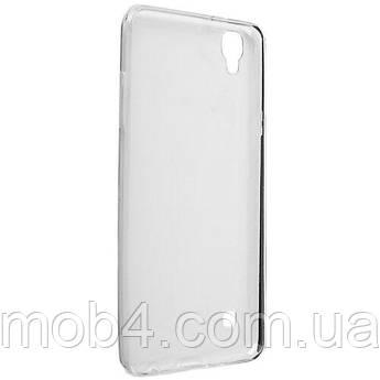 Прозорий силіконовий чохол для LG X style