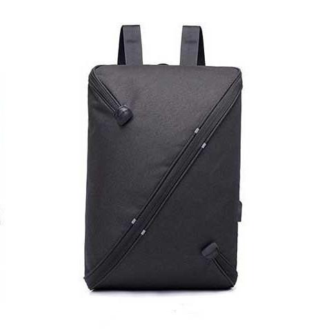 Многофункциональный вместительный рюкзак UNO bag Black c выходом для USB и наушников