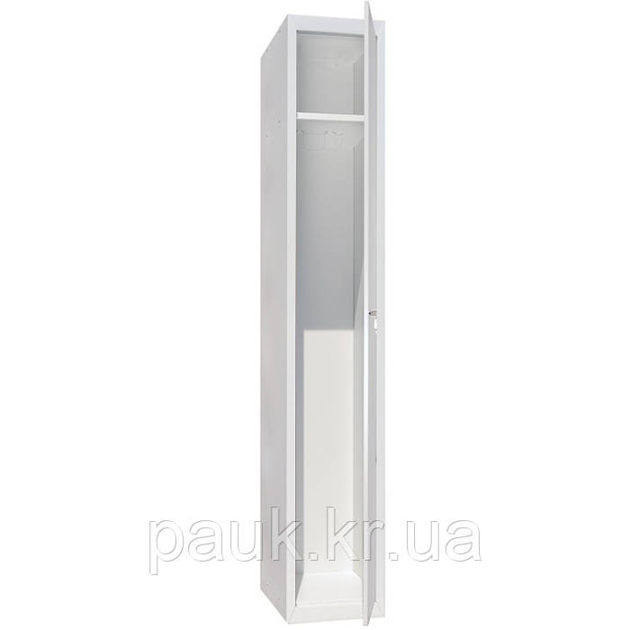 Одежный шкаф в раздевалку ШОМ-400/1, металлический шкаф для одежды