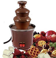 Шоколадный фонтан мини Фондю Mini Chocolate Fondue Fountain, фото 1