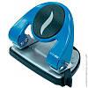 Діркопробивач до 30 арк., Economix, метал. корпус, з лінійкою, синій 40118