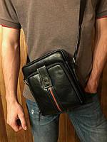 Сумка через плечо Shans мужская городская черная, фото 1