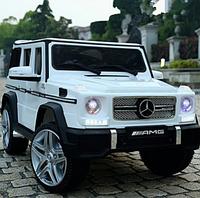Детский электромобиль Джип «Mercedes-Benz G 65 AMG» M 3567EBLR-1 (4WD полный привод) Белый