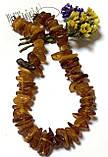 Бусы из натурального  янтаря (бурштина)  полированого, фото 2
