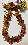 Бусы из натурального  янтаря (бурштина)  полированого, фото 3