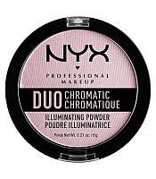 NYX Пудра-хайлайтер Duo chromatic №02 6 г