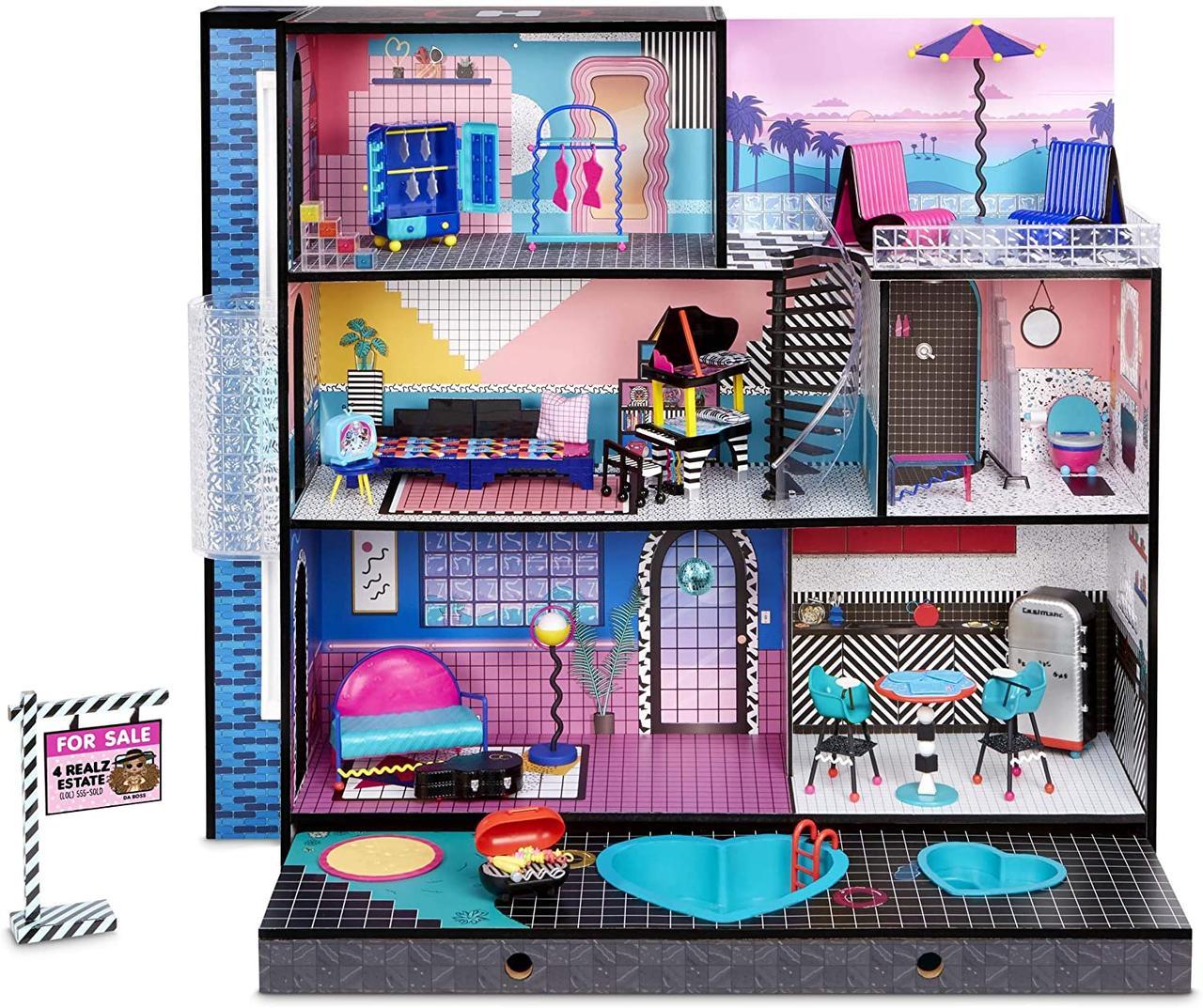 Лол Модный особняк ОМГ дом 85+ LOL сюрпризов L.O.L. Surprise! OMG House