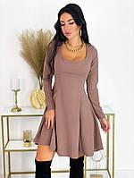 Женское удобное платье с 42 по 48 рр стрейч диагональ