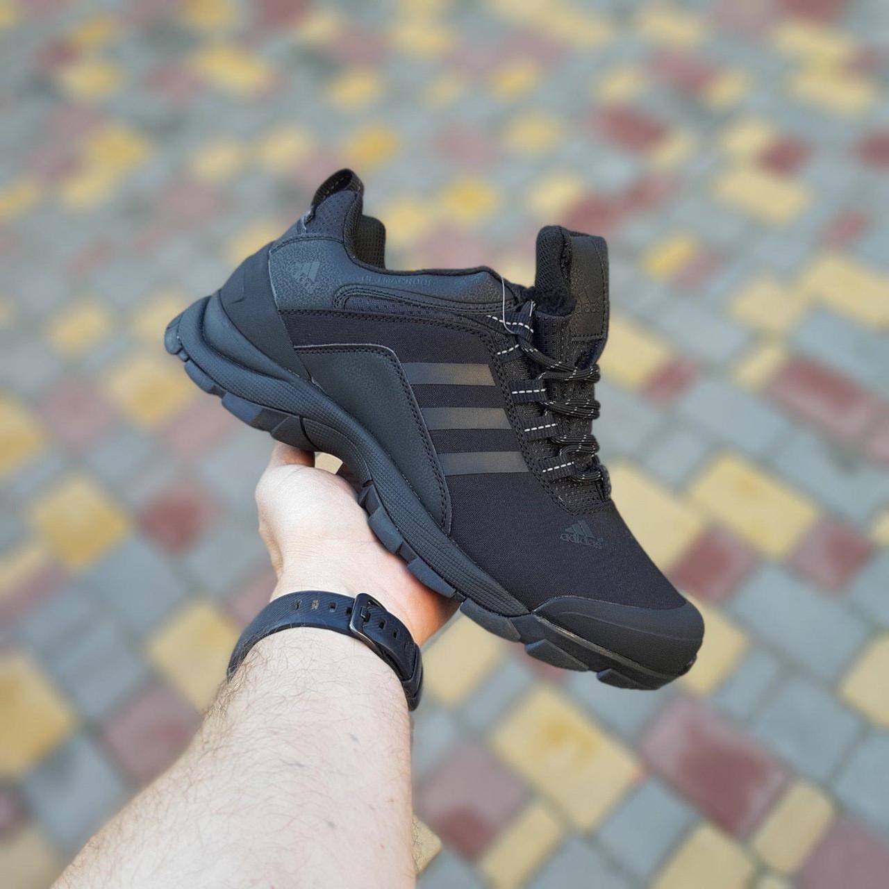 """Зимние кроссовки Adidas Climaproof """"Черные"""""""