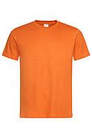 Футболка Stedman Classic Men мужская хлопковая 155 г/м2 оранжевая