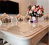 Скатерть Мягкое стекло для стола и мебели Soft Glass (2.9х1.5м) толщина 0.5 мм Прозрачная, фото 2