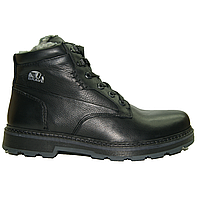 Мужские ботинки зимние из натуральной кожи на меху Распродажа!!! BeBrave 811 41 размер (27,5 см) ТЭП, цвет