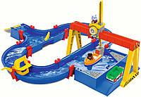 Игровой набор Аква Плей. Грузовой порт с мега краном AQUAPLAY 8700001532