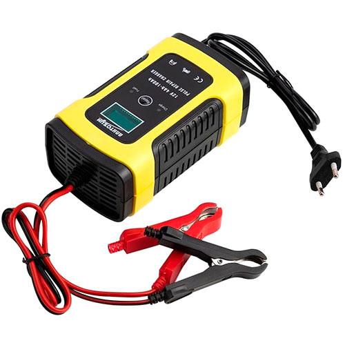 Розумне зарядний пристрій для авто акумуляторів 12В 5А РК FOXSUR FBC1205D