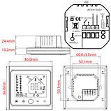 Терморегулятор Wi-Fi для газового котла 220В 3А BHT-002-GCLW, белый, фото 2