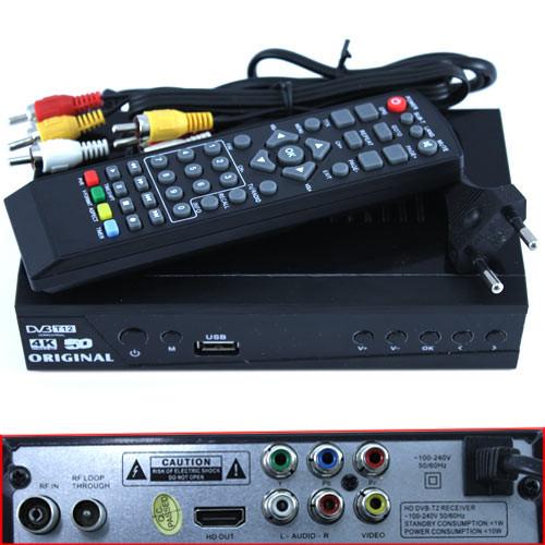 ТБ ресивер DVB-T2 HD цифровий ефірний приймач тюнер 1080p HDMI USB