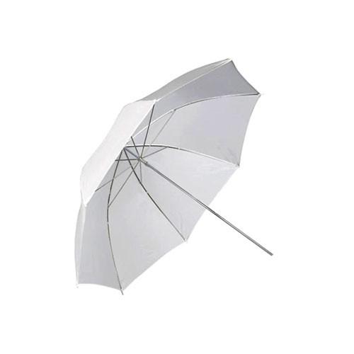 """Фото парасолька 101см білий, 40"""" студійний, просвіт"""