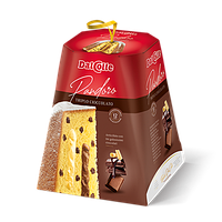 Pandoro Dal Colle Triplo Cioccolato 750гр