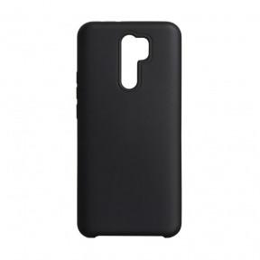Чехол силиконовый Silicone Case для Xiaomi Redmi 9 Black
