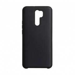 Чехол силиконовый Silicone Case для Xiaomi Redmi 9 Black, фото 2
