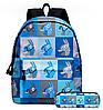 Рюкзак  молодежный городской Fortnite Lama с пеналом